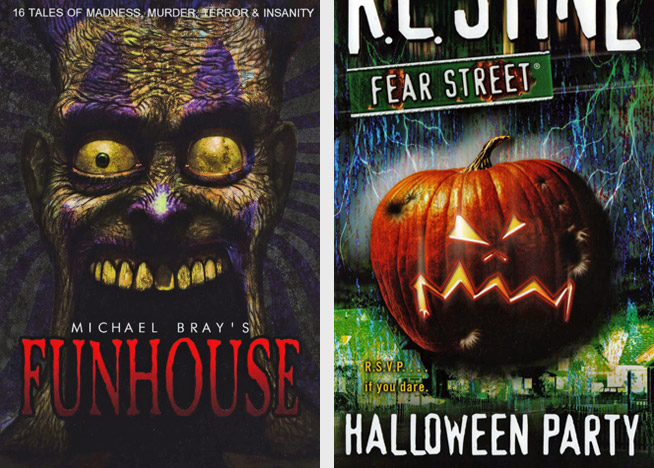 Funhouse by Michael Bray, Halloween Party by R. L. Stine